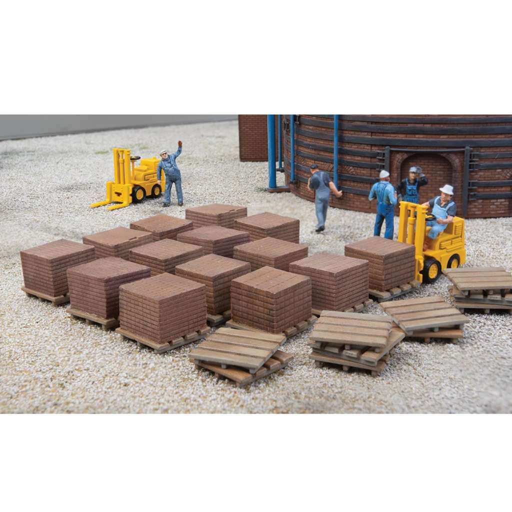 HO Scale: Brick Stacks - Kit