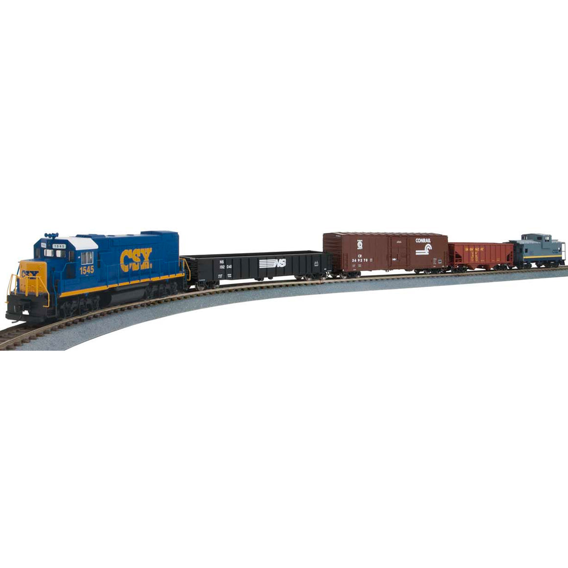 HO Scale: Train Set - WiFlyer Express - DCC & Sound - CSX