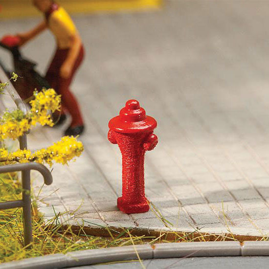 HO Scale: Fire Hydrants - 10 Pack