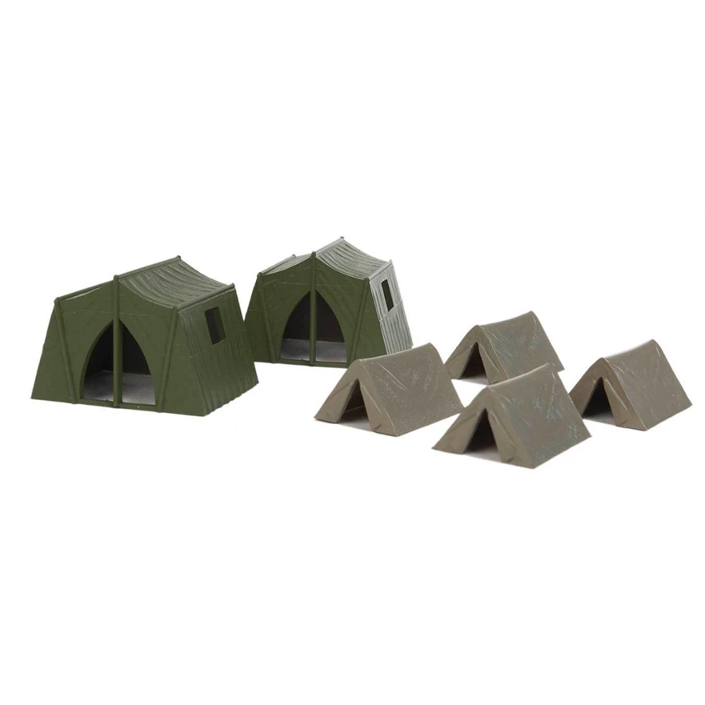 HO Scale: Camping Tents - 6 Pack
