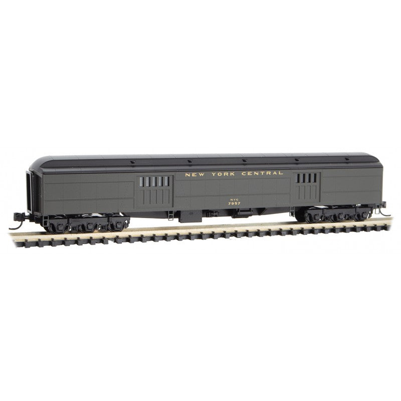 N Scale: 70' Heavyweight Baggage Car - New York Central