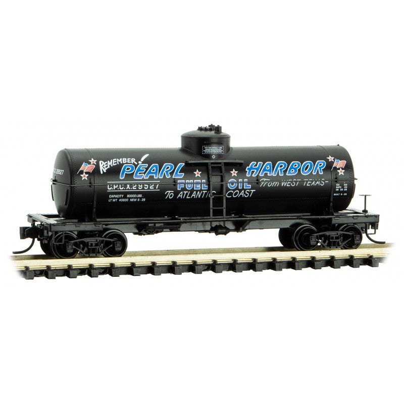 N Scale: 39' Single Dome Tank Car - Cosden Petroleum