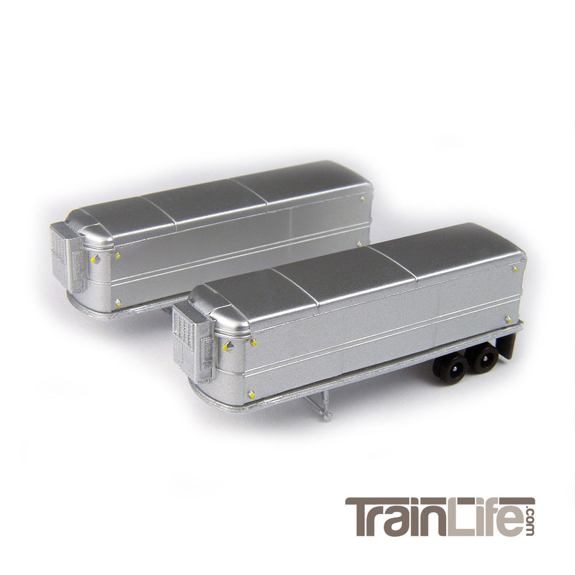 N Scale: Aerovan Reefer Trailers