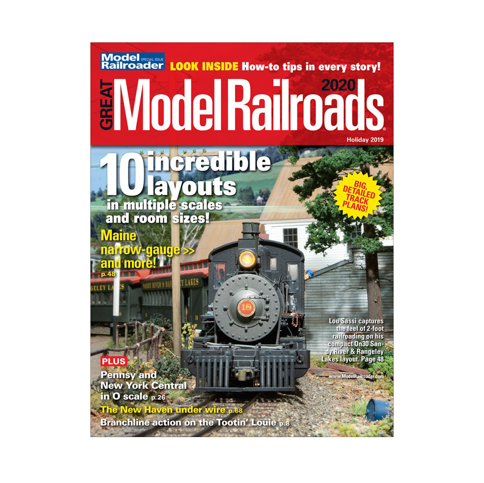 Magazine: Great Model Railroads 2020