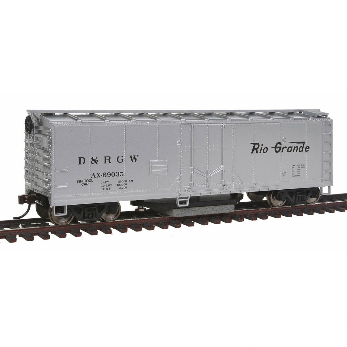 HO Scale: 40' Track Cleaning Plug Door Boxcars
