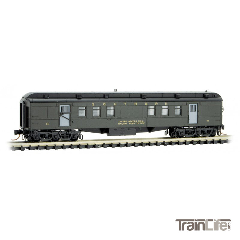 N Scale: RPO Heavyweight Passenger Car - Southern