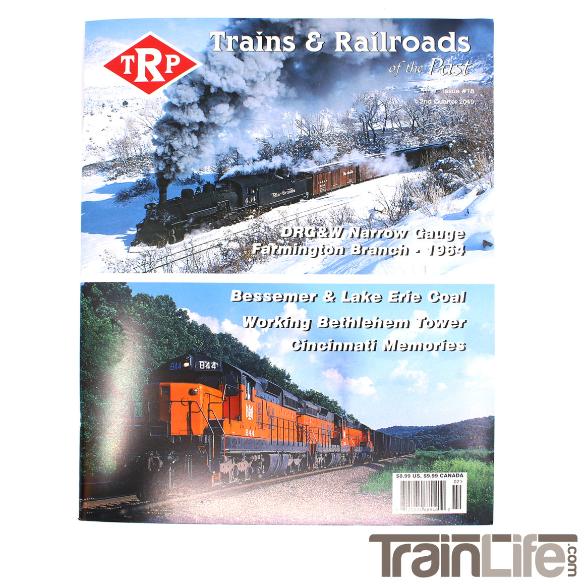 Magazine: Trains and Railroads of the Past - 2nd Quarter 2019