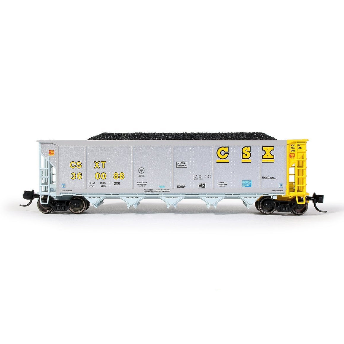 N Scale: Johnstown America AutoFlood II Hopper - CSX