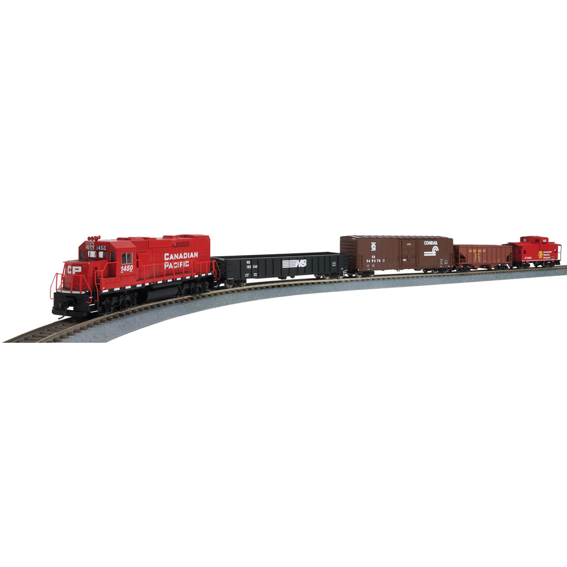 HO Scale: Flyer Express Train Sets - DC - Canadian Pacific