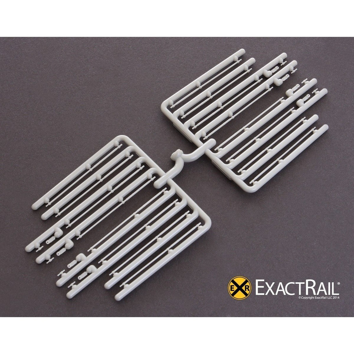 HO Scale: Door Bars/door handles/lift tabs: plate C, plug door, double 8'