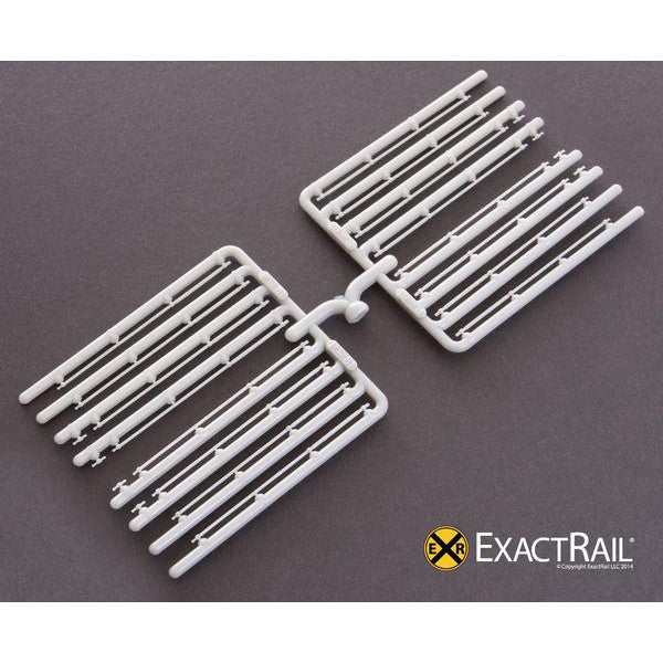 HO Scale Door Bars and Handles