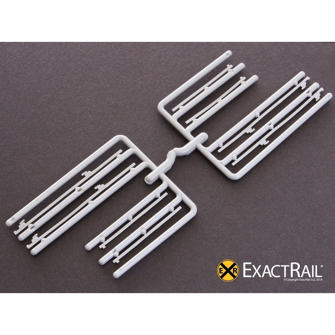 HO Scale: Door Tracks: 12' plug door tracks (2 parts/track)