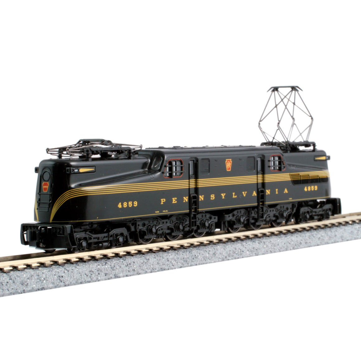N Scale: GG1 Electric - DCC Ready - PRR Brunswick Green