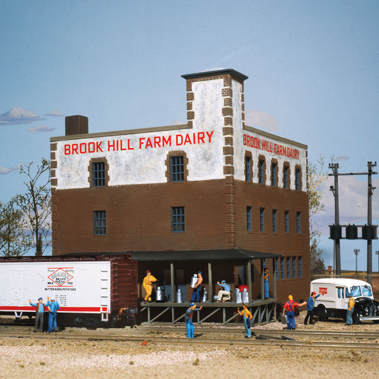 HO Scale: Brook Hill Farm Dairy - Kit