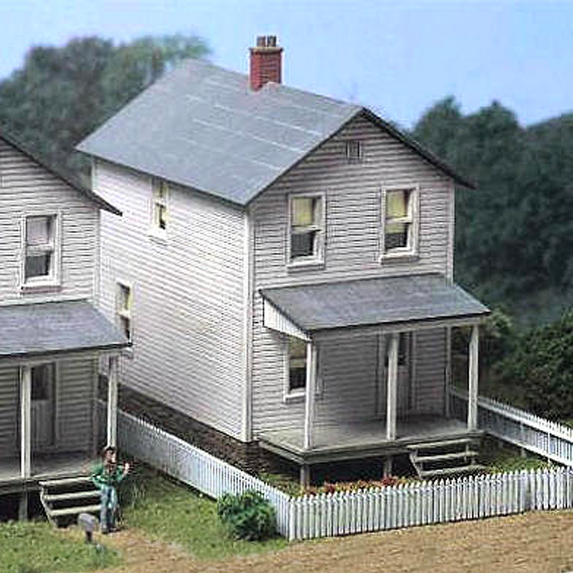 HO Scale: Railroad Street Company House - Kit