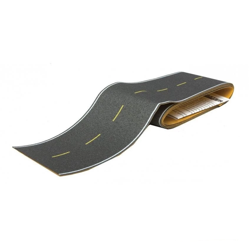 HO Scale: Flexible Self-Adhesive Paved Roadway - Modern Highway