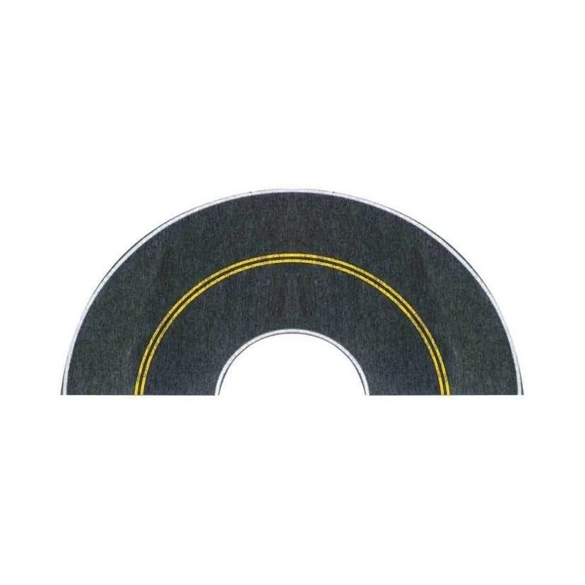 HO Scale: Flexible Self-Adhesive Paved Roadway - Curves