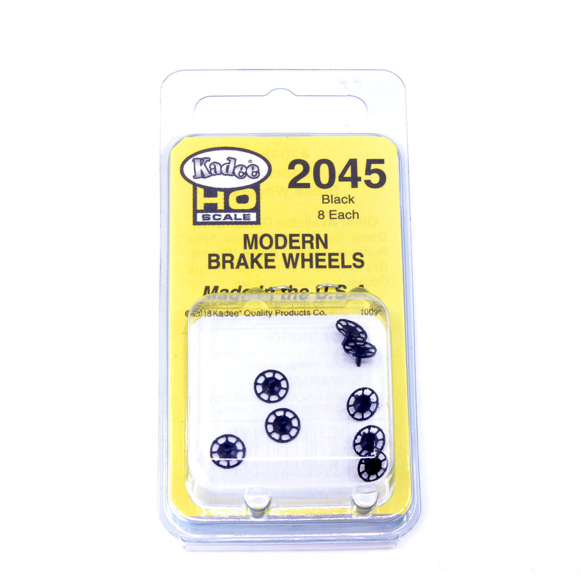 HO Scale: Kadee Detail Parts - Modern Brake Wheel