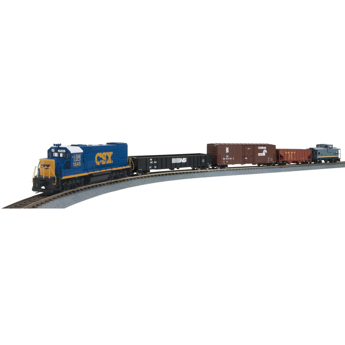 HO Scale: Flyer Express Train Sets - DC - CSX