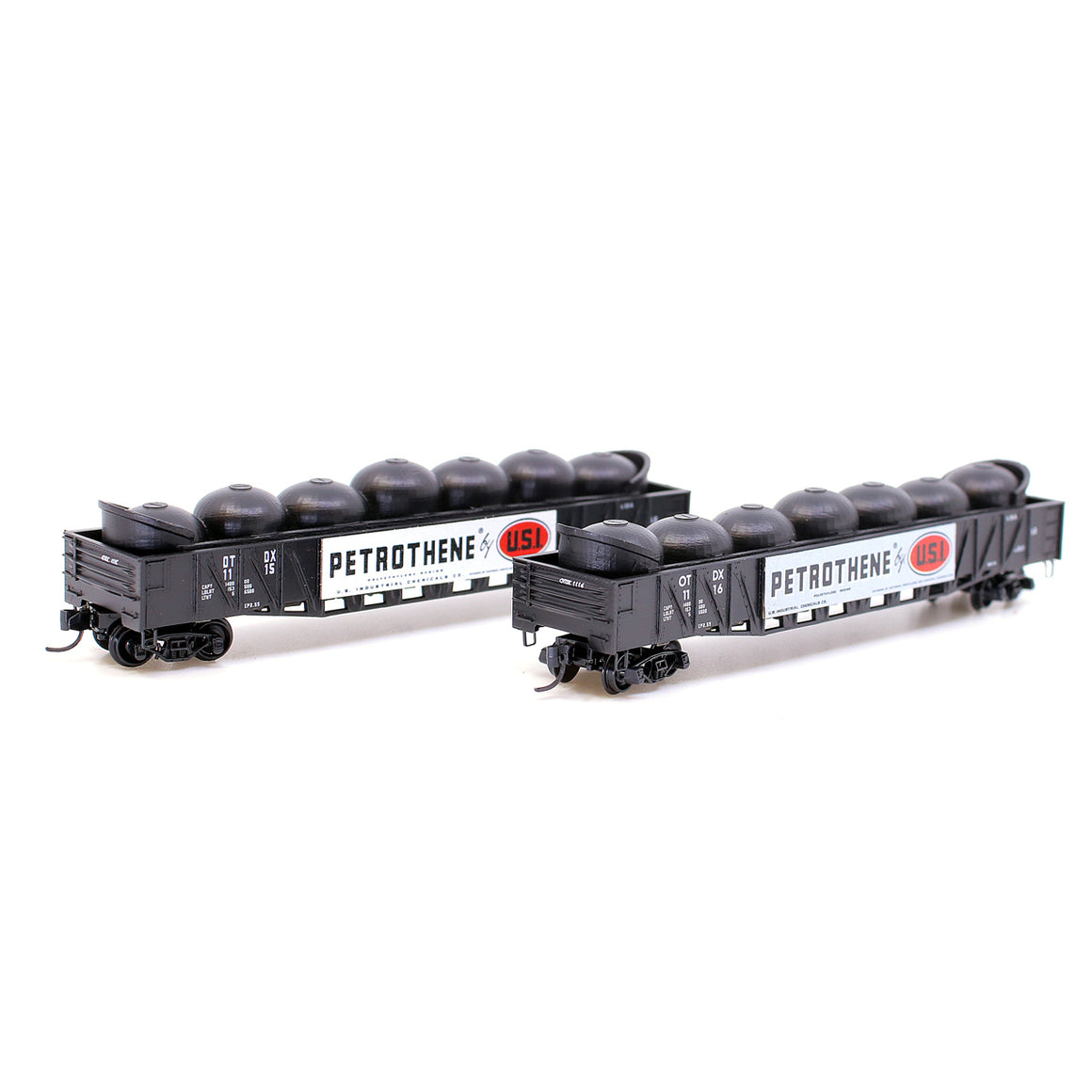 N Scale: 50' Composite Mill Gondola - OTDX - 2 Pack