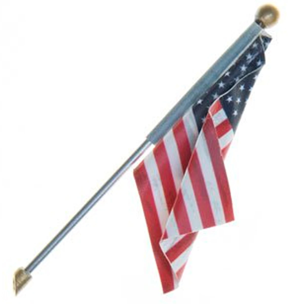 O Scale: Just Plug® U.S. Flag - Wall Mount