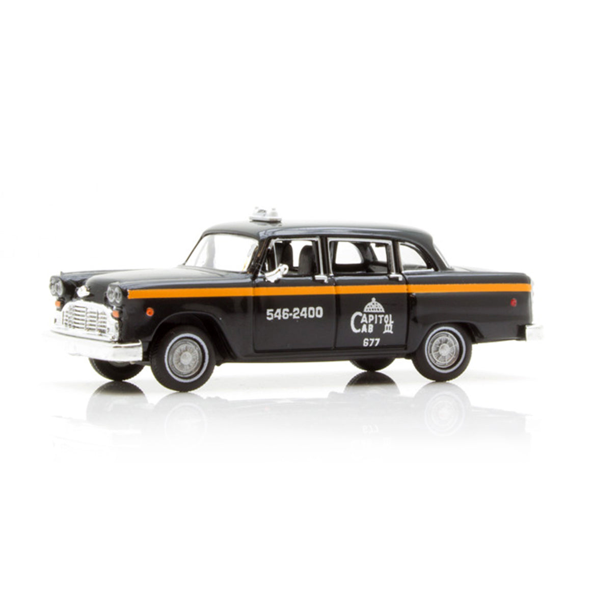 HO Scale: Checker Marathon Taxicab - Washington DC