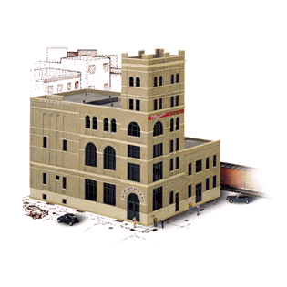 HO Scale: Milwaukee Beer and Ale Brewery - Kit