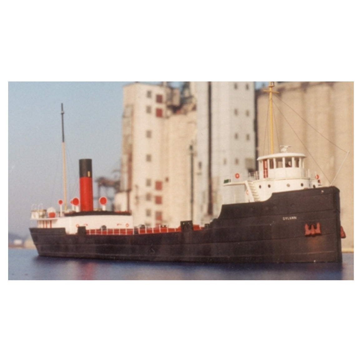 N Scale: Great Lakes Freighter Ship - Kit