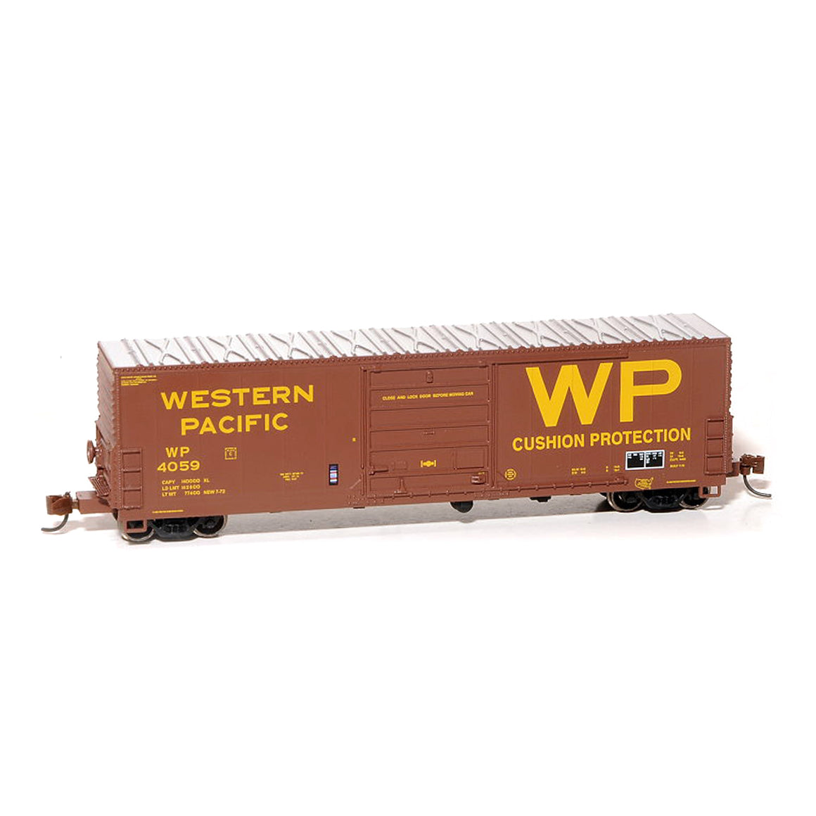 N Scale: USRE Class X72 Boxcar - Western Pacific
