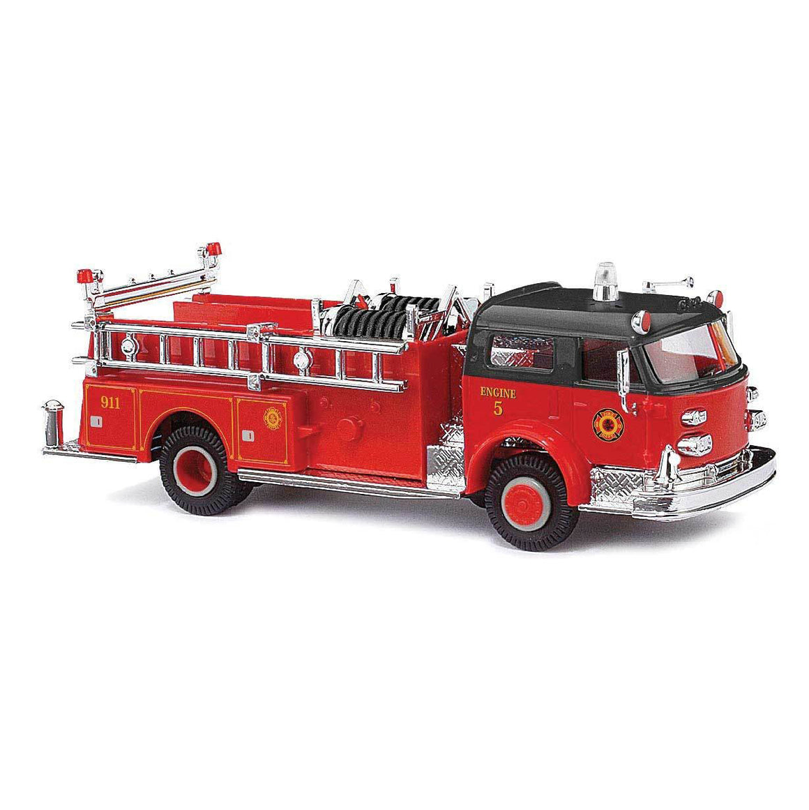 HO Scale: 1968 American-LaFrance Closed-Cab Pumper