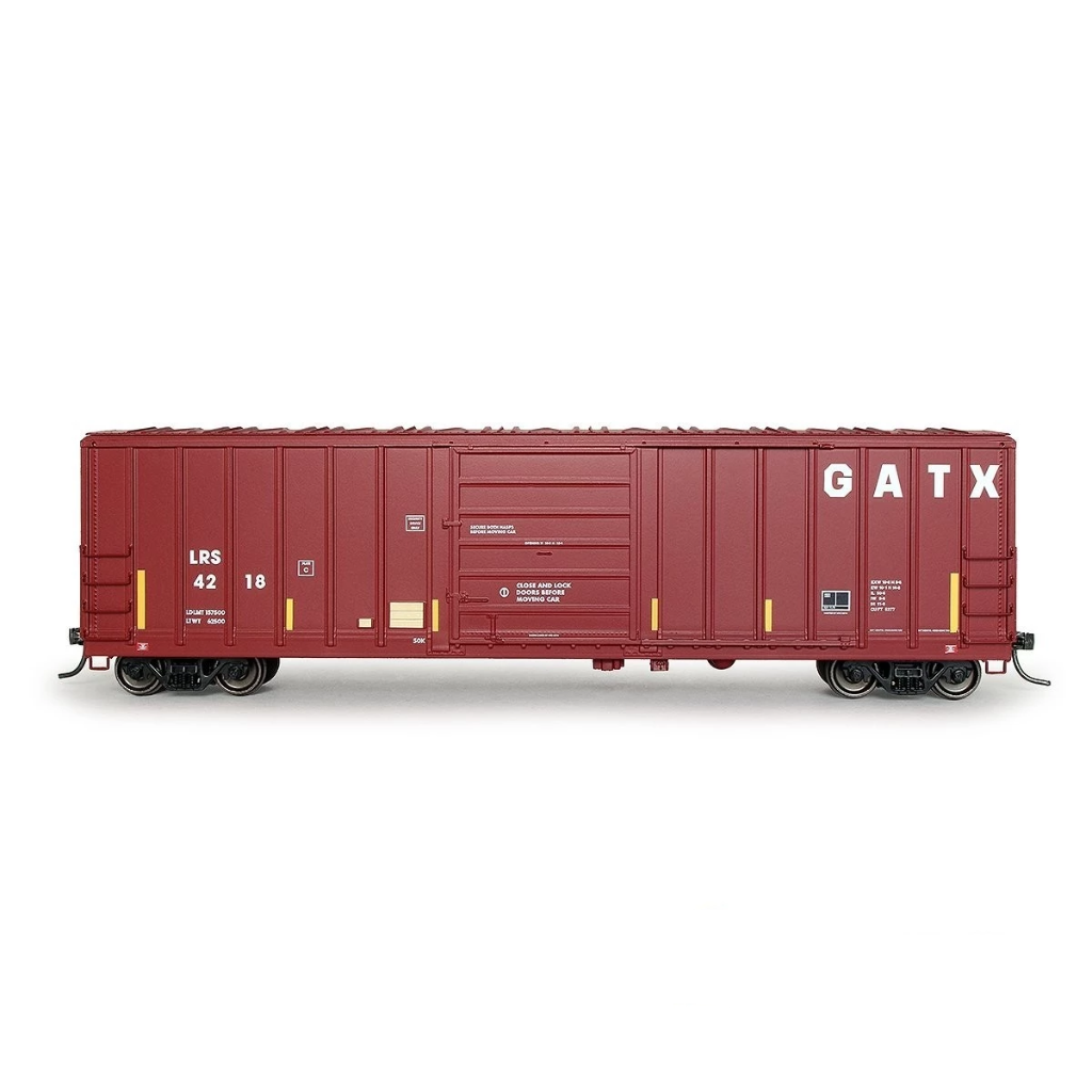 HO Scale: Evans 5277 Boxcar - Laurinburg & Southern 'GATX'