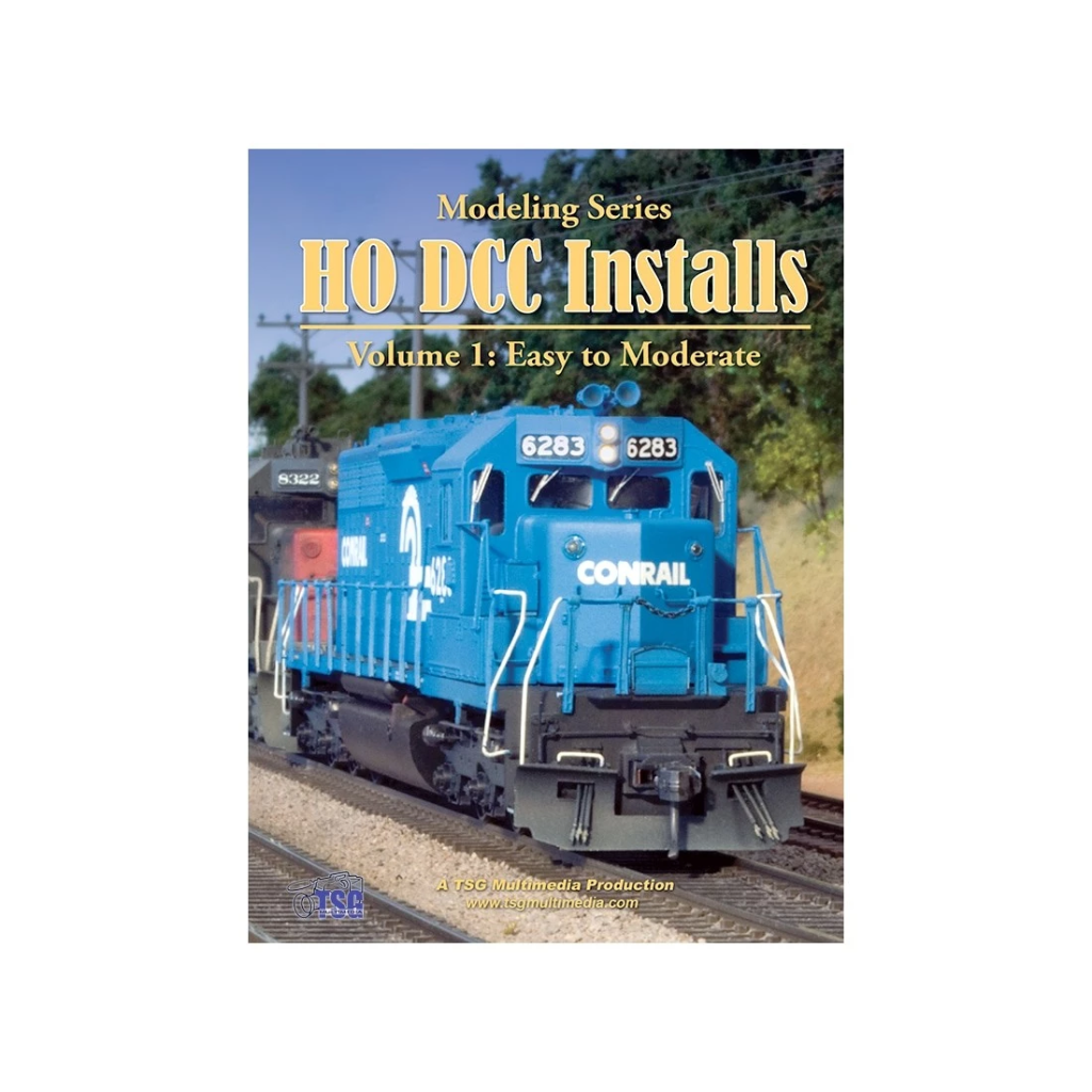 DVD: Modeling Series - HO Scale DCC Installs - Volume 1 'Easy to Moderate'