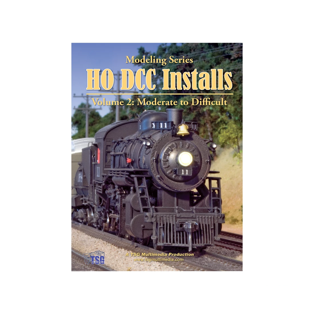 DVD: Modeling Series - HO Scale DCC Installs - Volume 2 'Moderate to Difficult'