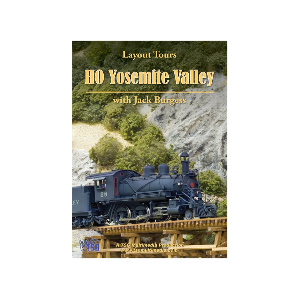 DVD: Layout Tours - HO Yosemite Valley