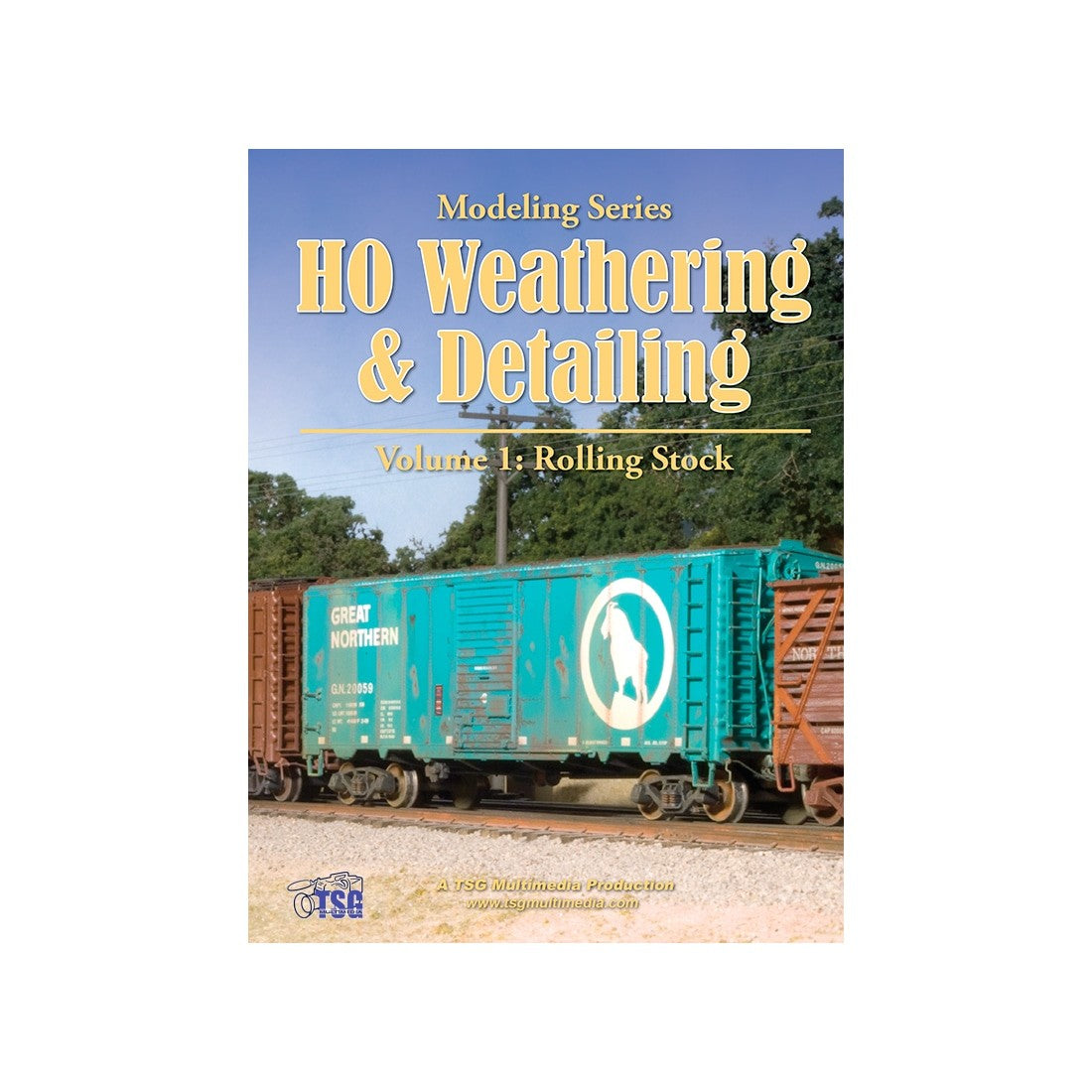 DVD: Modeling Series - HO Scale Weathering & Detailing - Volume 1