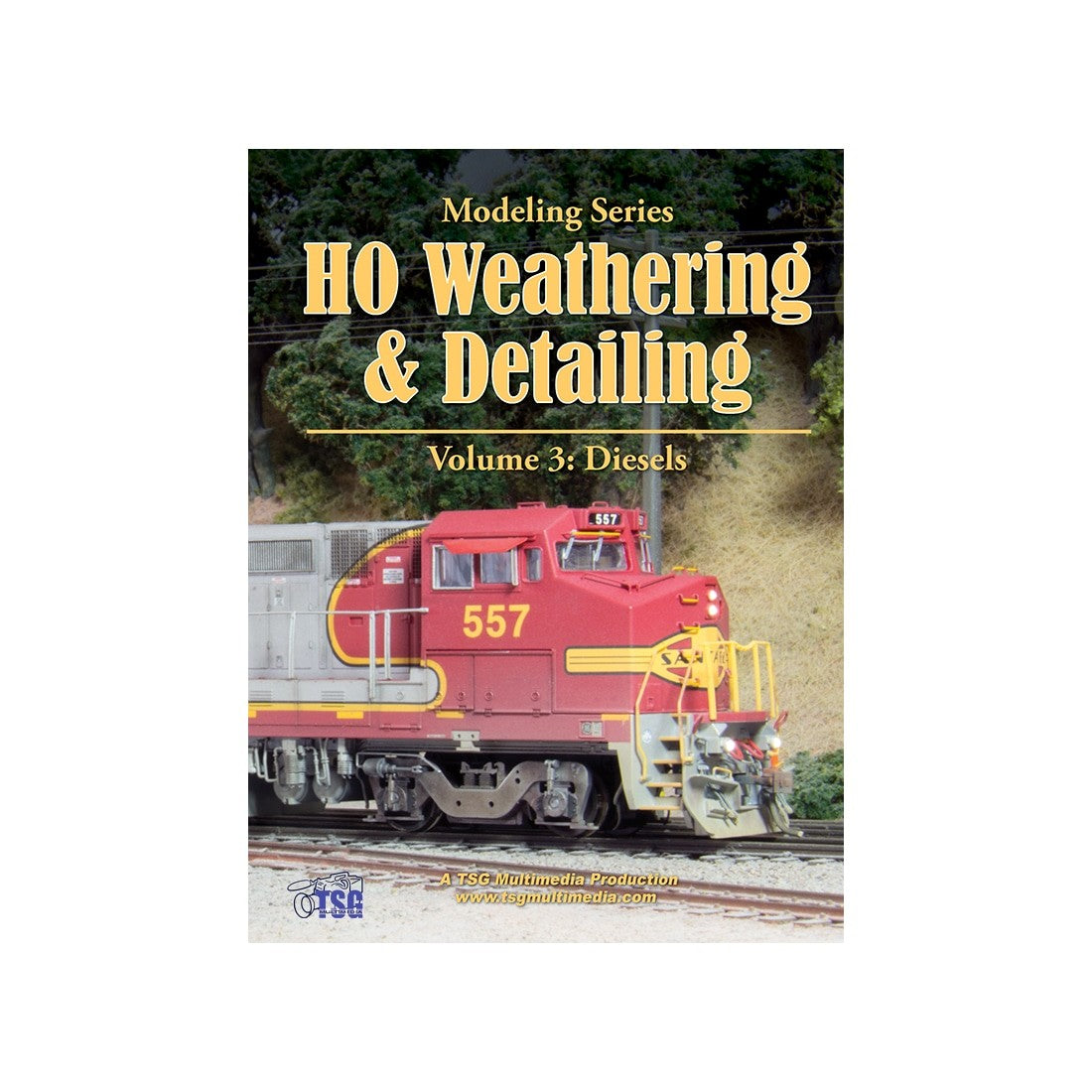 DVD: Modeling Series - HO Scale Weathering & Detailing - Volume 3