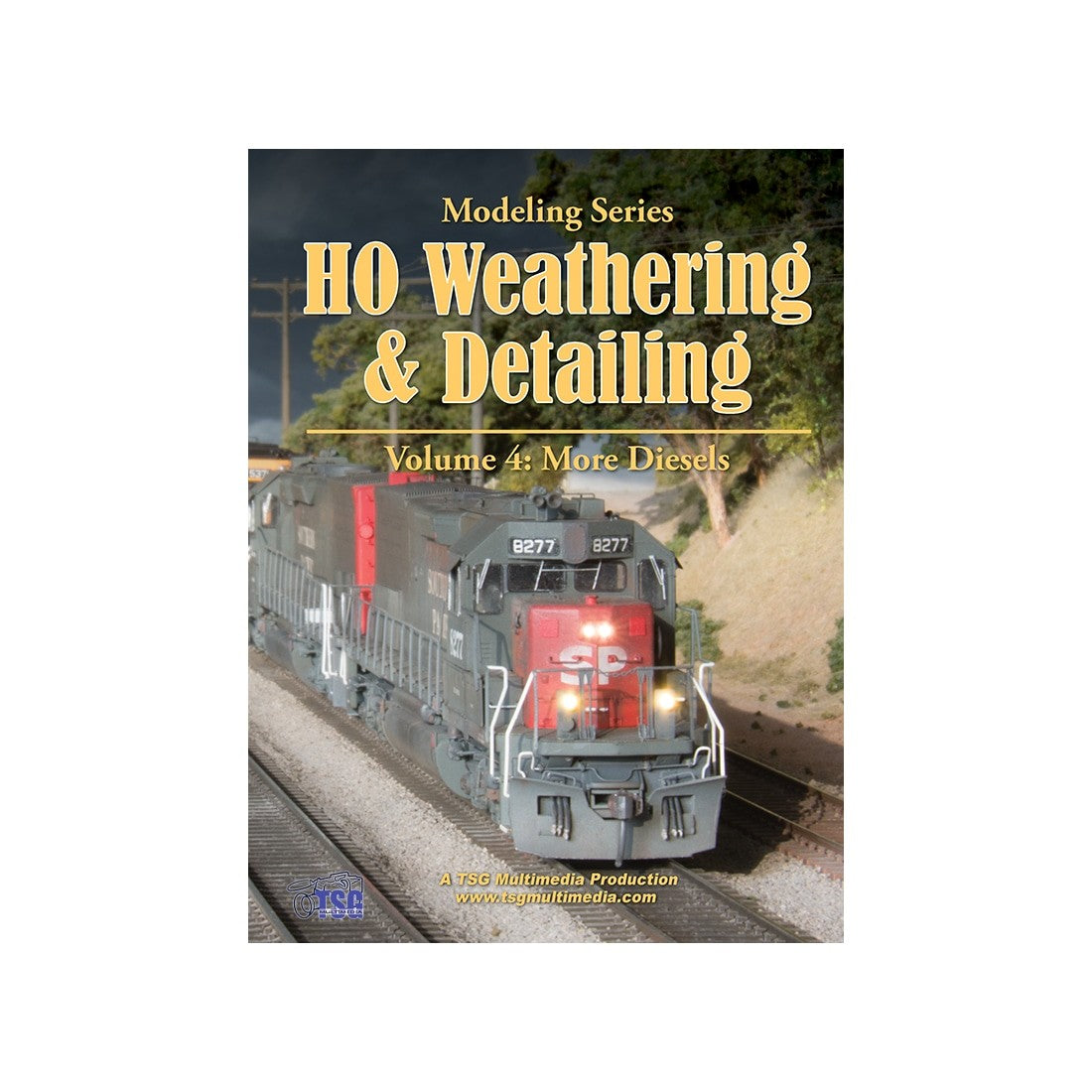 DVD: Modeling Series - HO Scale Weathering & Detailing - Volume 4