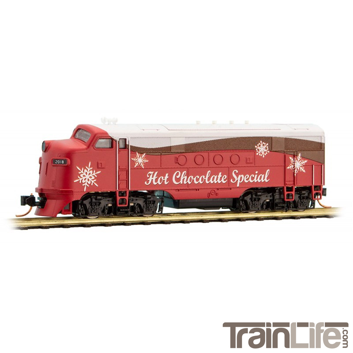 Christmas Train.N Scale Hot Chocolate Special Christmas Train