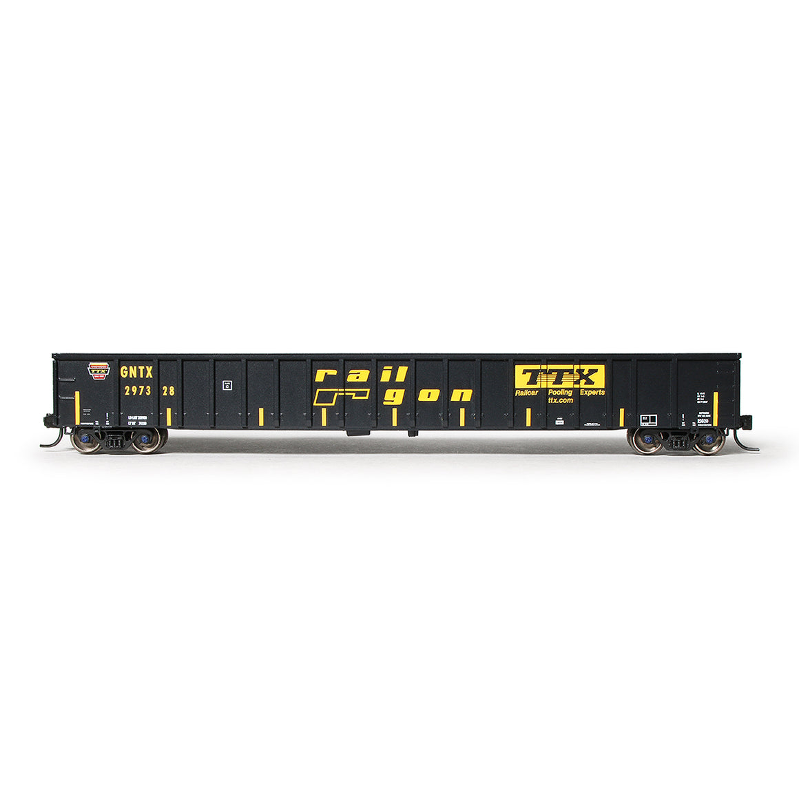 N Scale: Thrall 3564 Gondola - TTX 'Gold Crown'