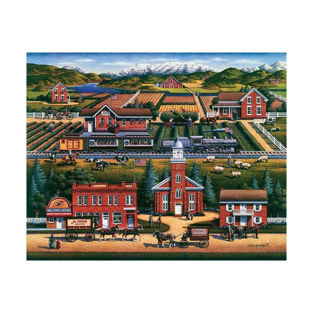 Puzzle: Heber Valley - Dowdle