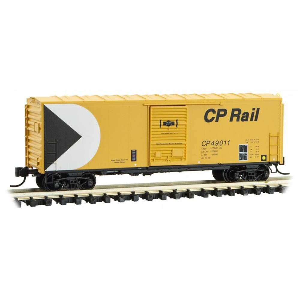 N Scale: 40' Standard Single-Door Box Car - Canadian Pacific