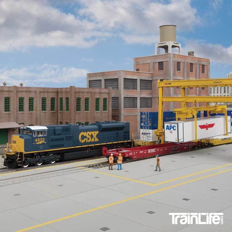 HO Scale: Intermodal Yard Pavement - Kit