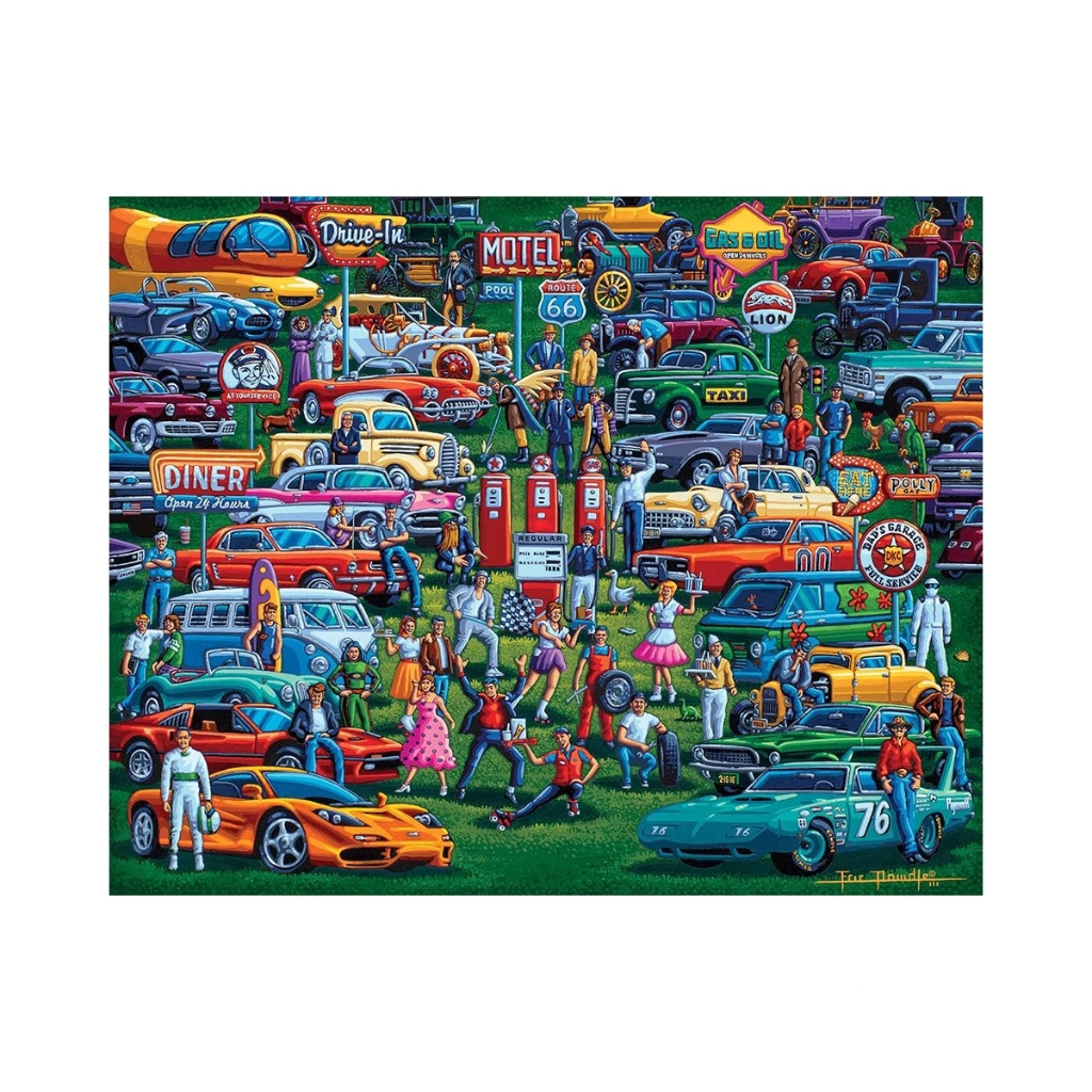 Puzzle: History of Cars - Dowdle
