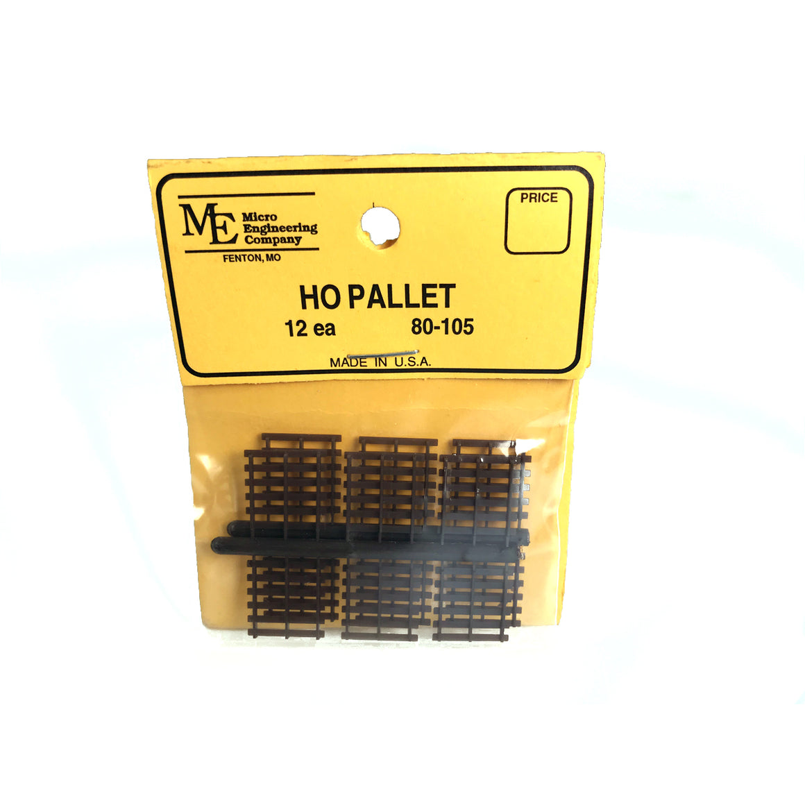 HO Scale: Pallets - 12 Pack