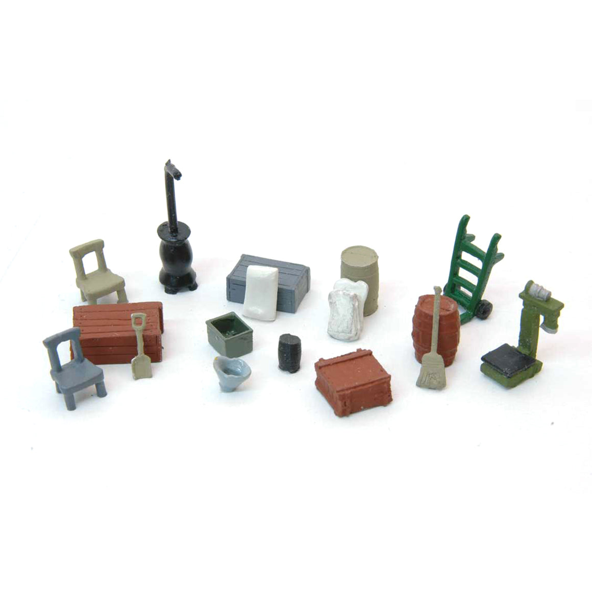 HO Scale: Country Store Detail Set