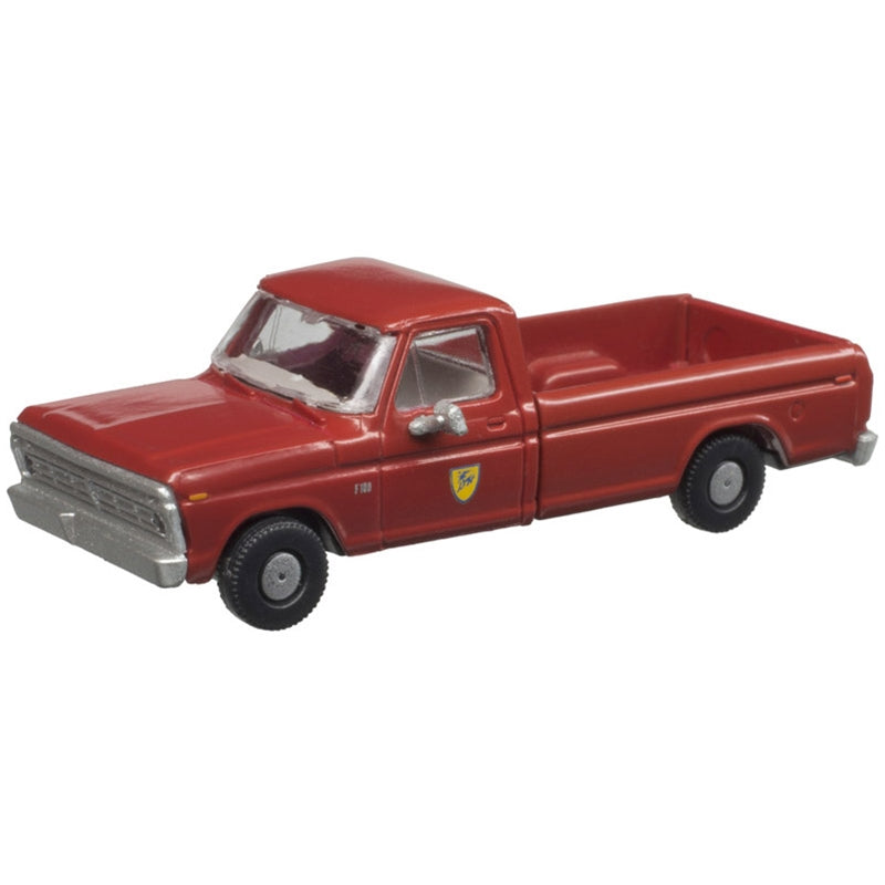 N Scale: 1973 Ford F-100 Pickup Truck - D&H - 2 Pack