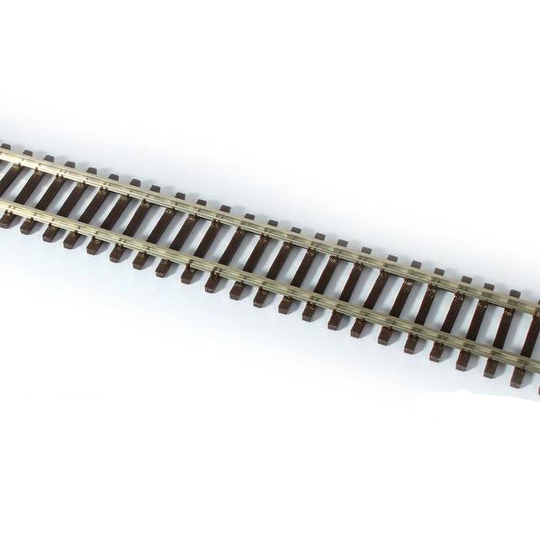 HO Scale: 3' Non-Weathered Flex-Track - Code-100 - 6 Pack