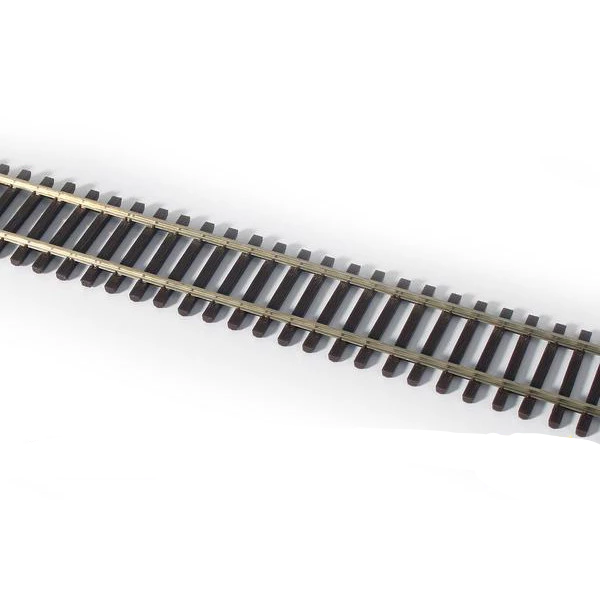 HO Scale: 3' Weathered Flex-Track - Code-70 - 6 Pack