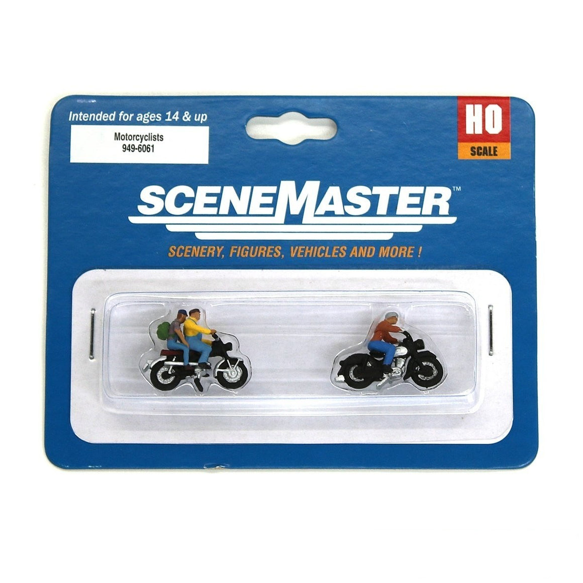 HO Scale: Motorcyclists