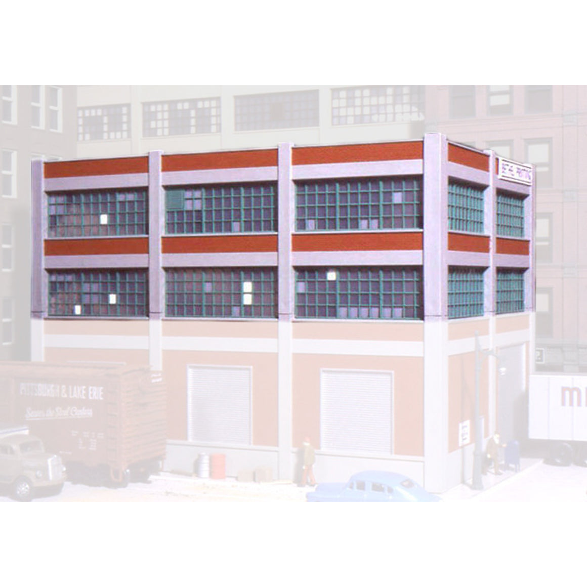HO Scale: Smallman Street Warehouse 2-Story Add-on Kit
